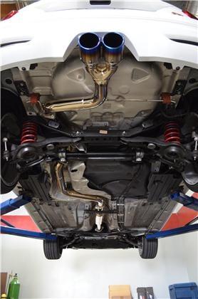 Injen Titanium Tipped 3 00 Cat Back System 2013 2014 Ford Focus St